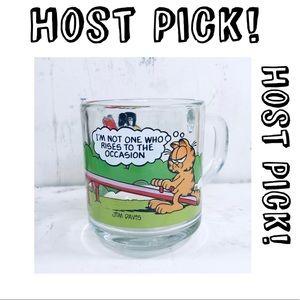 Vintage 1978 Garfield & Odie Drinking Glass